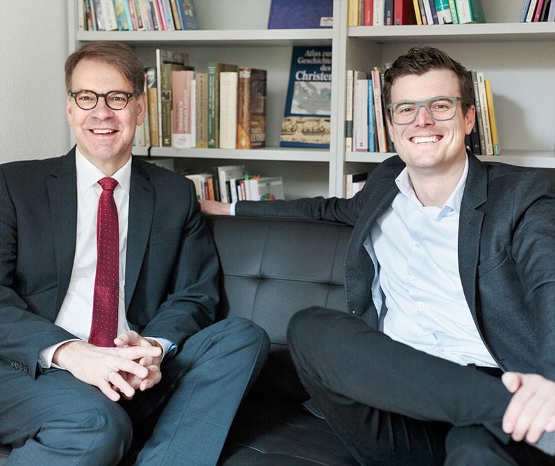 Stefan Jung und Rouven Hönes