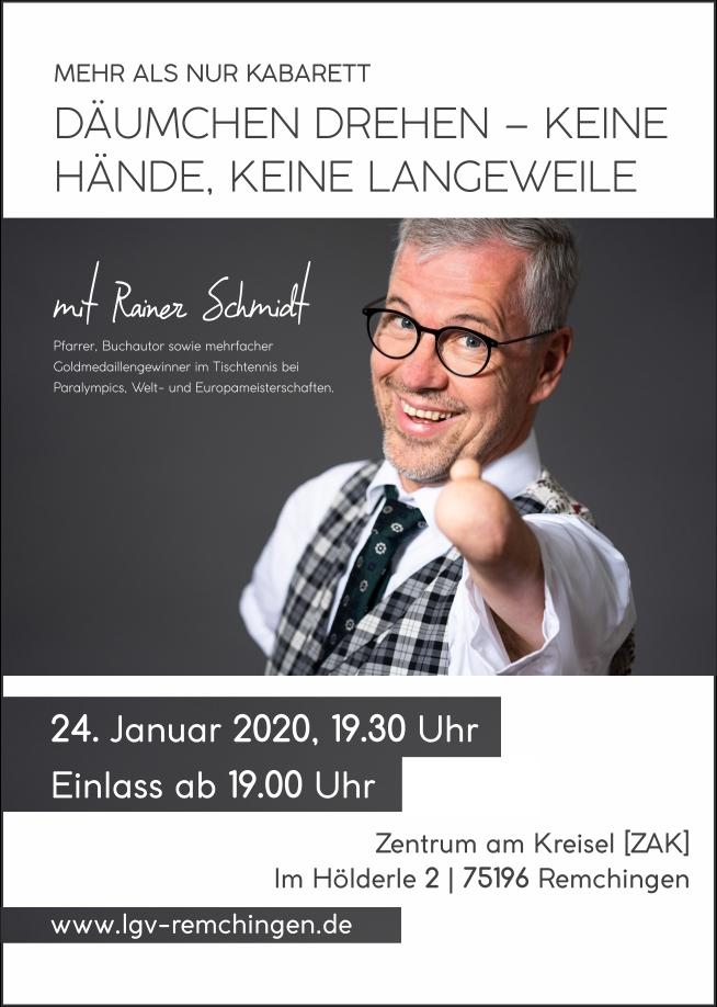 Rainer Schmidt   Däumchen drehen – keine Hände