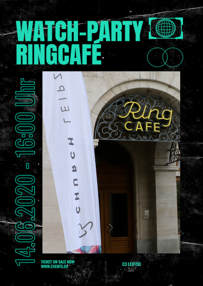 WATCH-PARTY RINGCAFÉ