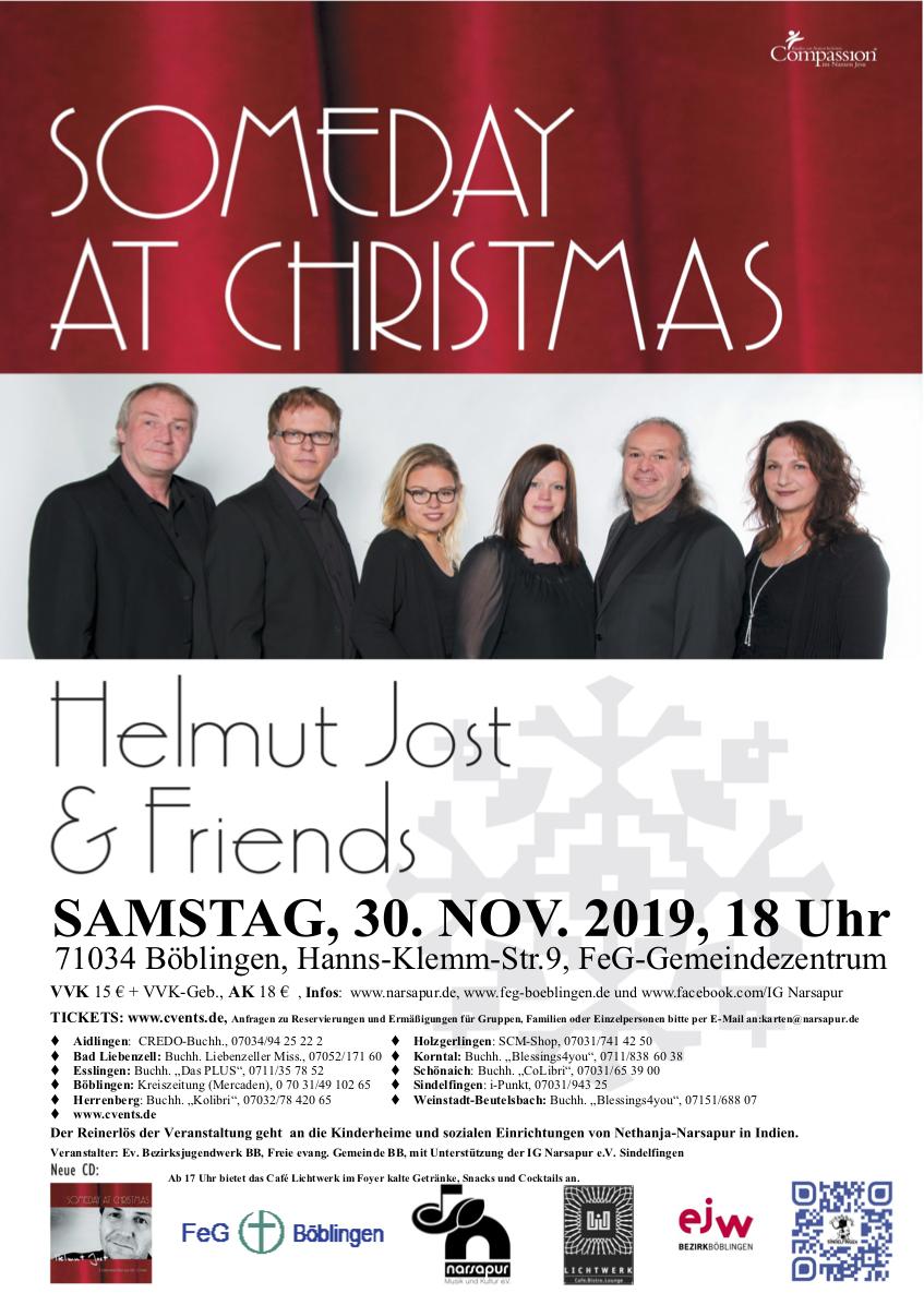 Weihnachtskonzert A-Capella Helmut Jost & friends
