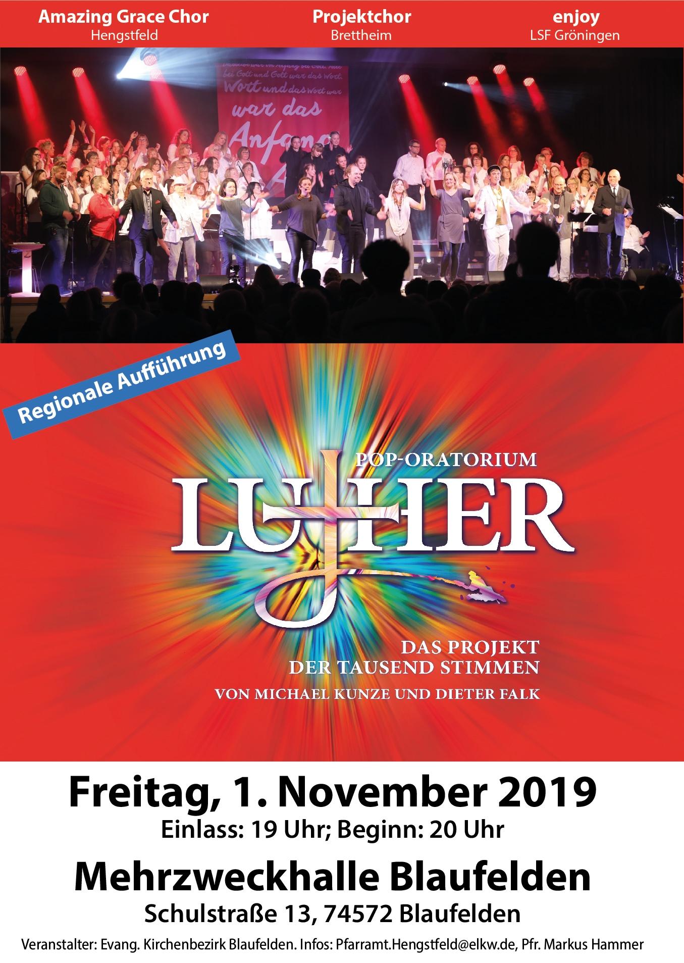 LUTHER Pop-Oratorium