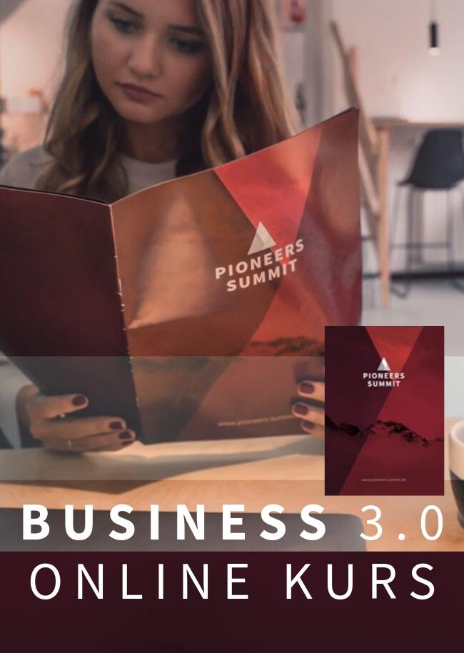 BUSINESS 3.0 ONLINE KURS