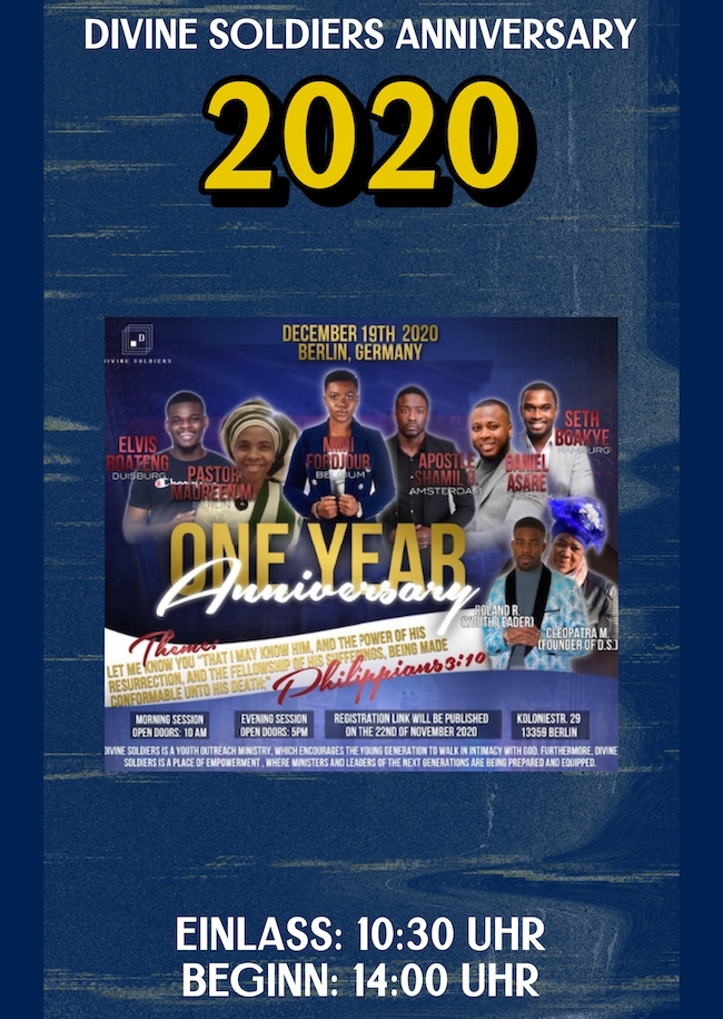 Divine Soldiers Annivasery 2020