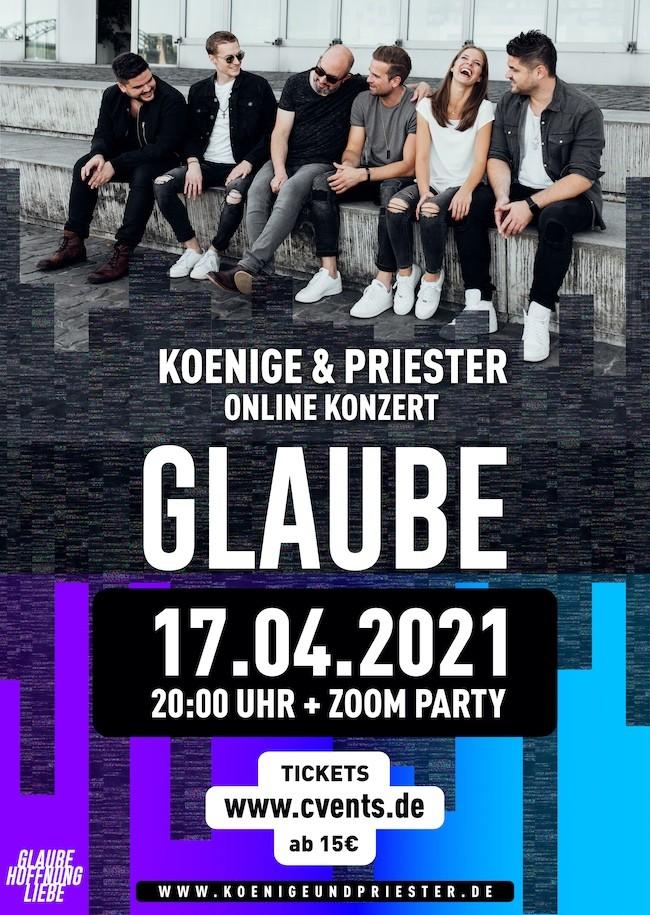 Koenige & Priester - Das dreiteilige Online Konzert + ZOOM Party