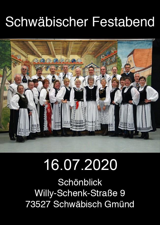 Schwäbischer Festabend