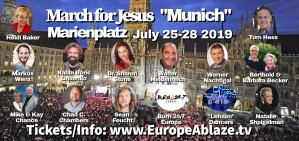 """March for Jesus """"Muenchen"""" 2019"""