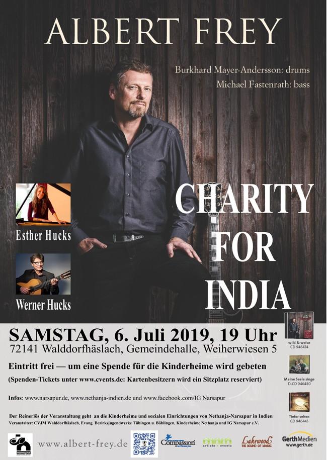 CHARITY FOR INDIA – der Nethanja-Kulturabend 2019