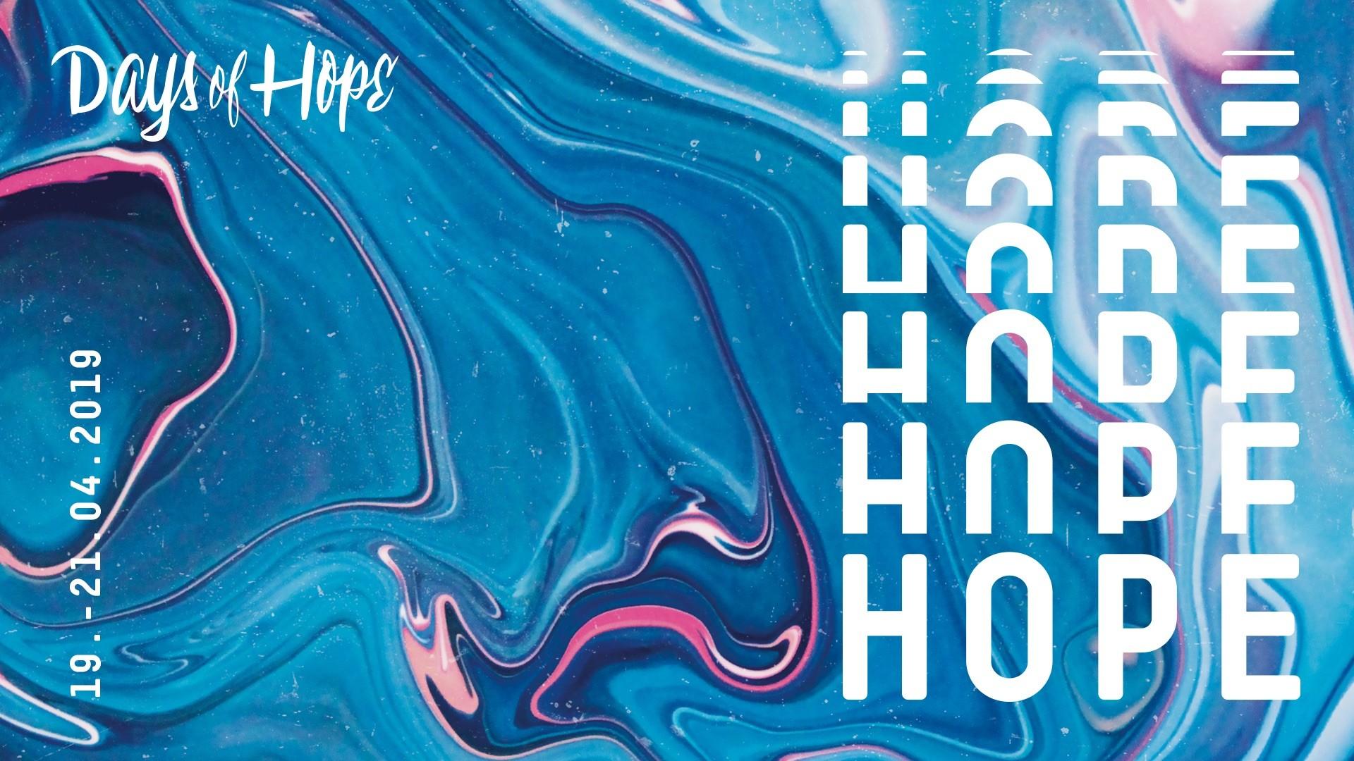 Days of Hope 2019 – Sitzplatzreservierung